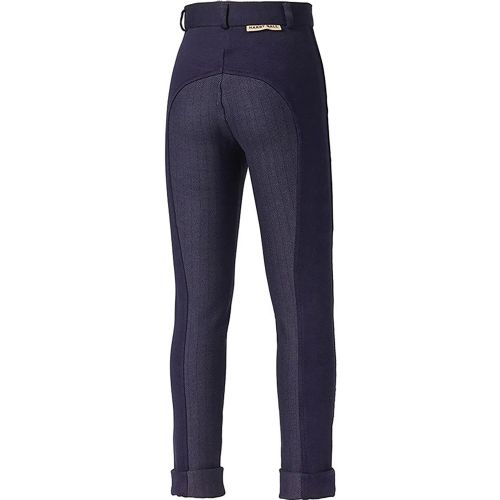Harry Hall Junior Chester Jodhpurs & Breeches with Sticky Bum Seat in Navy